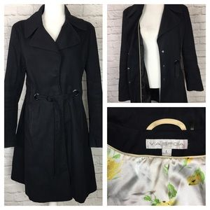 Via Spiga | Belted Trench Coat Black
